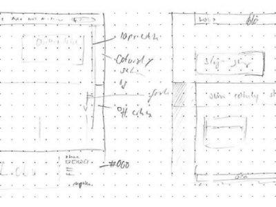 Punktraster Papier – Webdesign Freebie