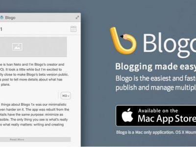 Blogo 2 – einfach schnell vom Desktop bloggen…